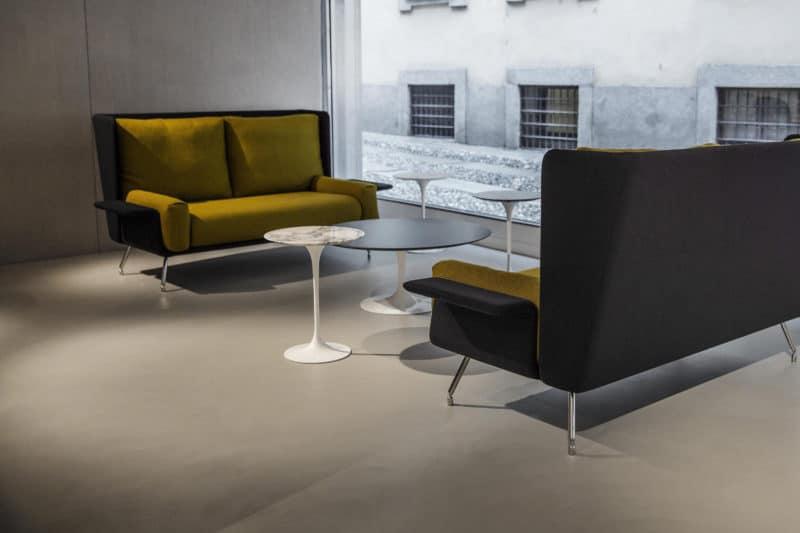 Foto architettura showroom Milano
