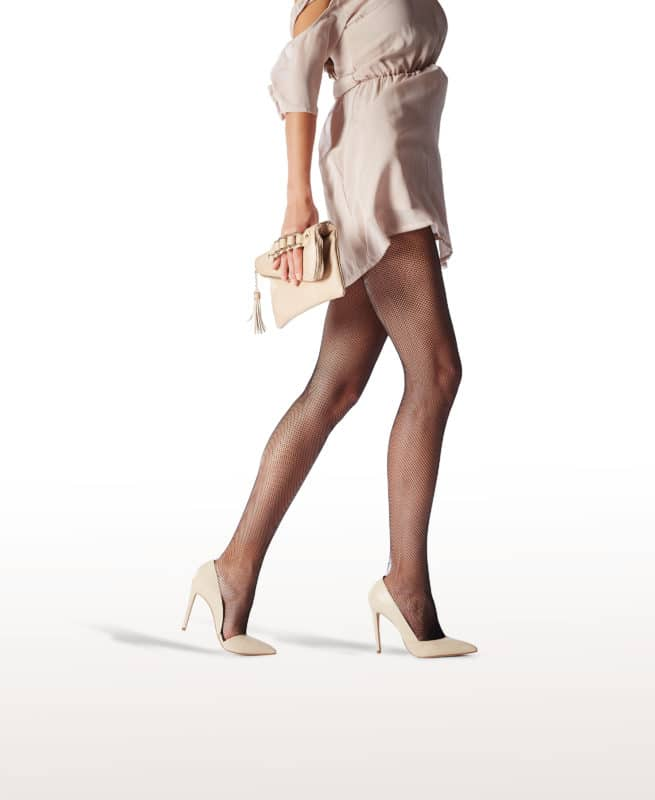 Foto calze nere borsa Franzoni