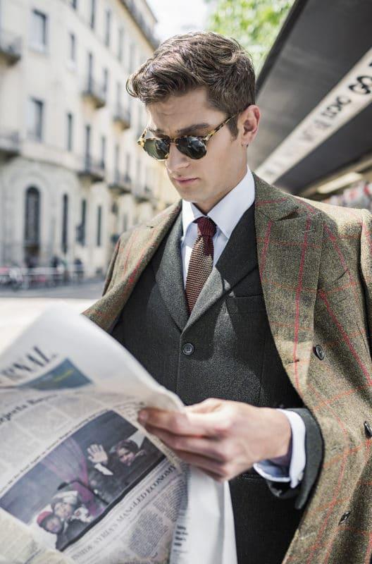 Foto per look book giacca uomo Gallo