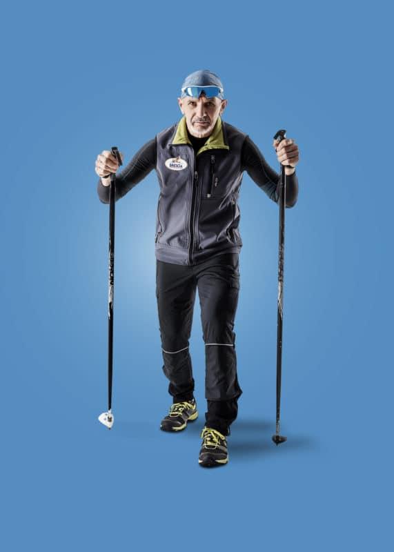 Foto pubblicitaria sport sci Brescia Alberto Ghidoni