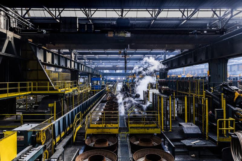 Fotografia industriale produzione