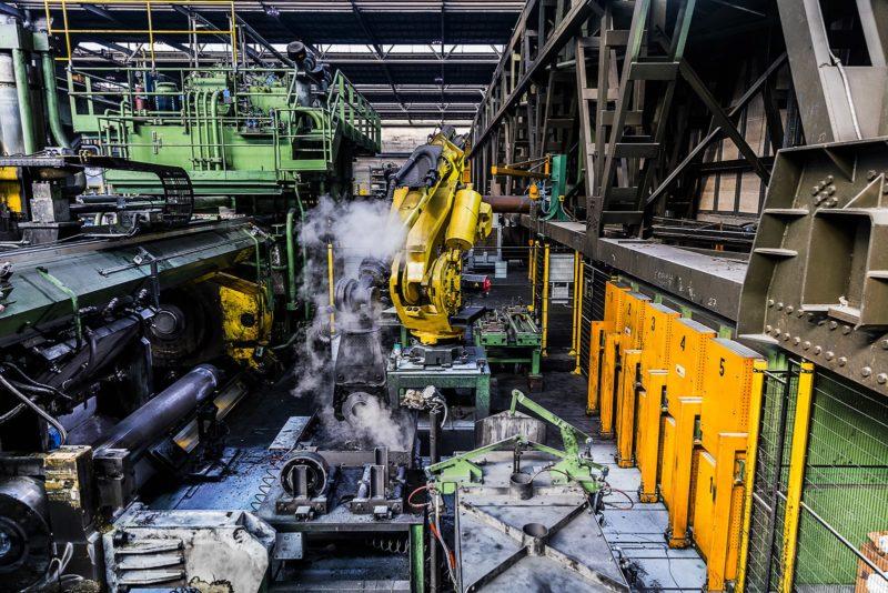 Fotografo industriale macchinari
