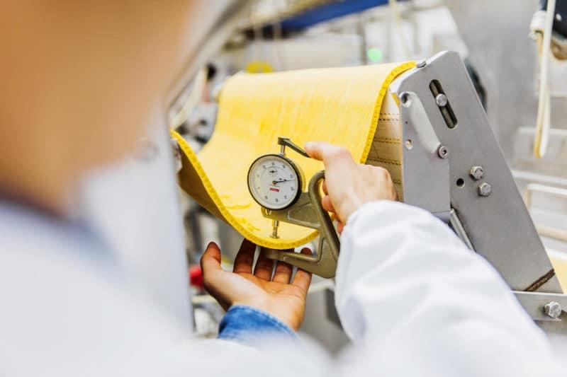 Fotografo industriale misurazione