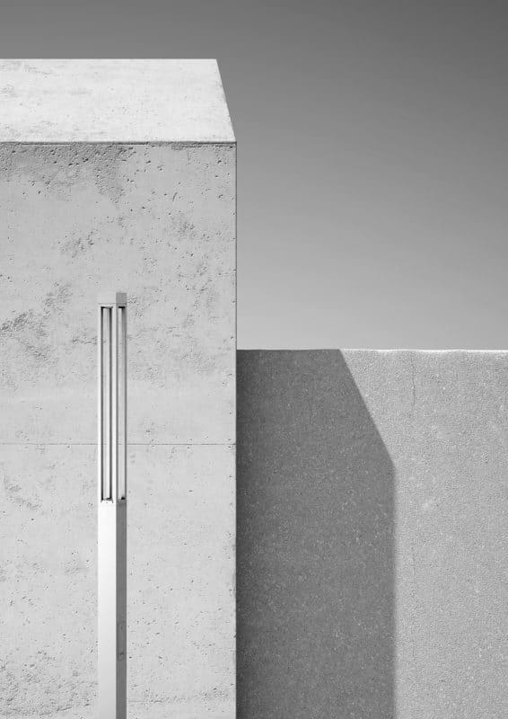 Rendering 3d architettura esterni con illuminazione